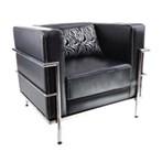 Gresco Sofa 1 Seat - LS09 - Hitam - Inden 7-14 Hari