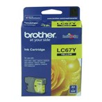 Tinta Printer Brother Ink Cartridge LC-67Y Untuk MFC-490CW / MFC-J615W / MFC-795CW - Kuning