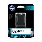 Tinta Printer HP 02 AP Black Ink Cartridge