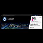 TONER PRINTER HP 201X Magenta LaserJet Toner Cartridge
