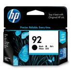 Tinta Printer HP 92 AP Black Inkjet Cartridge