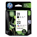 CATRIDGE PRINTER HP 21/22 Combo Pack Ink Cartridge