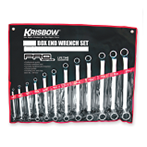 Box End Wrench Set 6-22 Mm 8 Pcs Krisbow 360Lx100wx60h Mm