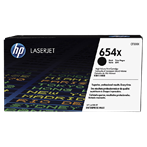 TONER PRINTER HP 654X Black Contract LaserJet Toner Cartridge