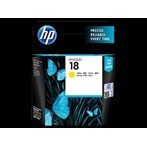 Tinta Printer HP Ink Cartridge C4939A 18 - Regular- Kuning