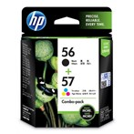 CATRIDGE PRINTER HP 56/57 Combo Pack Ink Cartridge