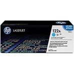 Toner Cartridge HP Original  LaserJet 122A - Q3961A - Cyan