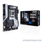 CPU Support Asus Intel FCLGA 2066 PRIME X299-A