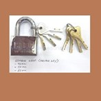 Gembok Keep Master Key 60 mm