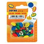 Paku Mading / Color Thumb Tacks Joyko CTT-10