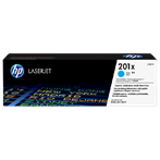 TONER PRINTER HP 201X Cyan LaserJet Toner Cartridge