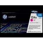 Toner Printer Cartridge HP Original LaserJet 124A - Q6003A - Magenta