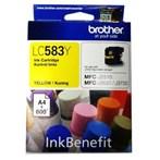 Tinta Printer Brother Ink Cartridge LC583 - Kuning