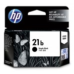 Tinta Printer HP 21b Black Ink Cartridge