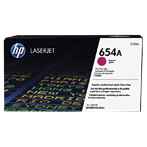 TONER PRINTER HP 654A Magenta Contract LaserJet Toner Cartridge