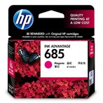 CATRIDGE PRINTER HP 685 Magenta Ink Cartridge