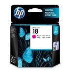 Tinta Printer HP 18 Magenta Ink Cartridge