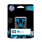 Tinta Printer HP 02 AP Cyan Ink Cartridge