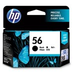 Tinta Printer HP 56 Black Ink Cartridge