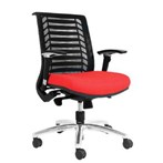 Kursi Kantor Chairman TS 01603 A - Merah - Inden 14-30 Hari