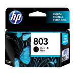 CATRIDGE PRINTER HP 803 Black Ink Cartridge