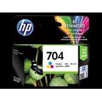 Tinta HP Original Ink Cartridge 704 - CN693AA - Tri-Color