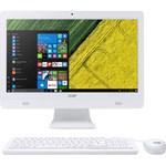 Komputer Desktop Acer AIO Aspire C20-720 (Pentium J3710, 4GB, 500GB, DVD, DOS, 19.5in) White