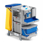 Alpha Trolley 3101 With Wheel & Bag Holder Type 2