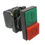 Double Head Push Button 220V LB2-EL8325