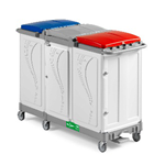ALPHA 8325 Waste Collection Trolley 3x150