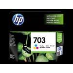 Tinta HP Original Ink Advantage Cartridge 703XL - CD888AA -Tri-color