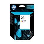 HP Original Ink Cartridge 23 - C1823D - Tri-Color