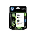 Tinta HP Print Cartridge CN067AA 60- Combo Pack- Warna Campuran