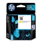 HP 18 Yellow Ink Cartridge