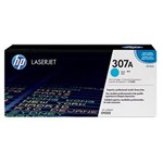 Toner Printer Cartridge HP Original LaserJet 307A - CE741A - Cyan