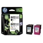 Tinta Printer HP Ink Cartridge CR312AA - Combo Pack- 802