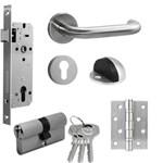 Kunci Pintu [Paket Set Promo] Yale Door Lock YTL 010 Set