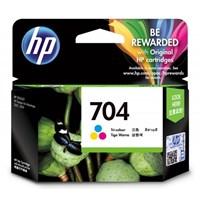 CATRIDGE PRINTER HP 704 Tri-color Ink Cartridge