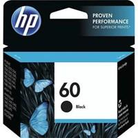 Tinta Printer HP Original Ink Cartridge 60 - CC640WA - Hitam