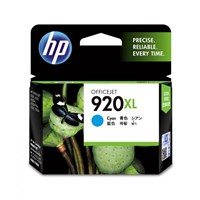 CATRIDGE PRINTER HP 920XL Cyan Officejet Ink Cartridges