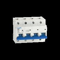 Miniature Circuit Breaker (MCB) eB/4P 4,5 Current (A)1,2,4,6,10,16,20,25,32,40,50,63