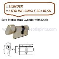 Gagang Pintu Sterling Single 30+30