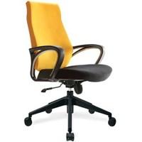 Kursi Kantor Donati Freda 1 N - Oscar/Fabric - Hitam Kuning - Indent 14 hari s/d 30 hari