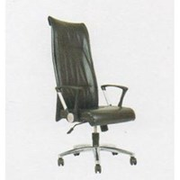 Chairman Premier Collection Kursi Kantor PC 9710 BAC - Oscar / Fabric - Kaki Aluminium - Hydrolic - Hitam - Inden 14-30 Hari