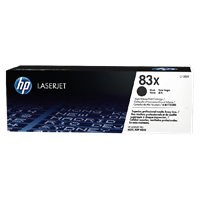 TONER PRINTER HP 83X Black Contract LaserJet Toner Cartridge