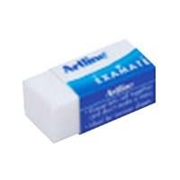 Artline Penghapus Pensil EER-22 - Putih - 1 Karton Isi 4 Pak @ 20 Pcs