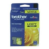 Tinta Printer Brother Ink Cartridge LC-67Y Untuk MFC-490CW / MFC-J615W / MFC-795CW - Kuning