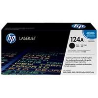 Toner Printer Cartridge HP Original LaserJet 124A - Q6000A - Hitam