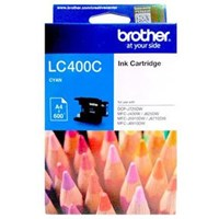 Tinta Printer Brother Ink Cartridge LC-400C - Cyan