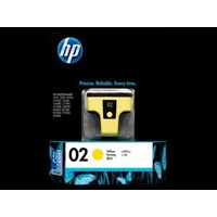 Tinta HP Original Ink Cartridge 02 AP - C8773WA - Kuning